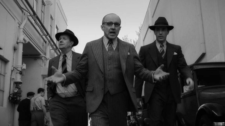 Gary Oldman interpreta a Herman Mankiewicz en 'Mank'. (Netflix)