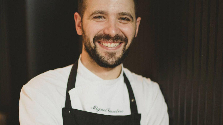 El chef de Santerra, Miguel Carretero.