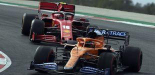 Post de El inesperado sorpaso final de Ferrari que Carlos Sainz debe frenar con McLaren