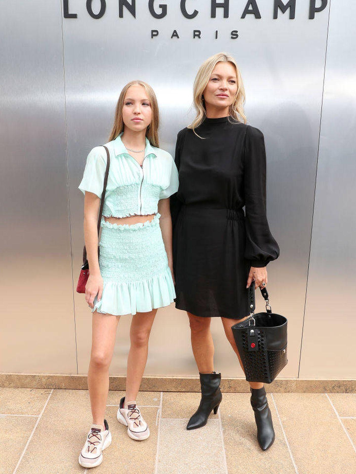 Lila y Kate. (Getty para Longchamp)