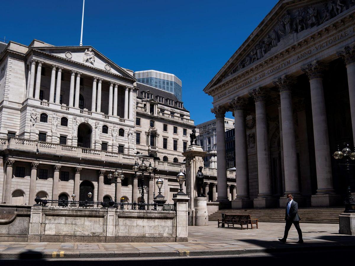 Foto: El banco de Inglaterra. (EFE)
