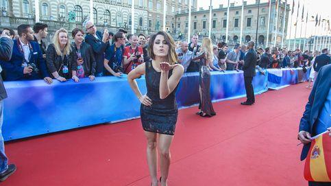 Las mejores fotos de Barei en la alfombra roja de Eurovisión 2016