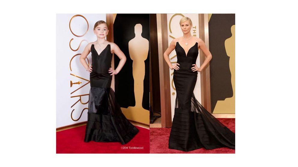 Las estrellas de los Oscar triunfan en las redes en tamaño mini
