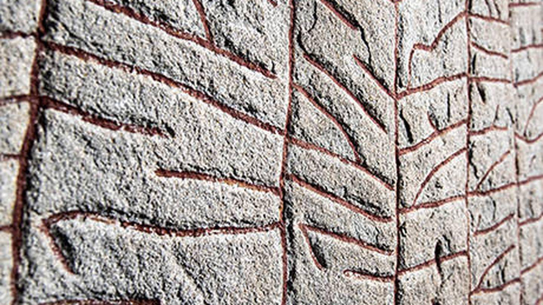 Los grabados de la piedra de Rök (Universidad de Gotemburgo)
