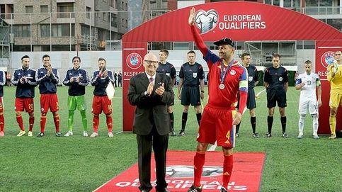 Óscar Sonejee cumplió su sueño de Bollywood con la selección de Andorra