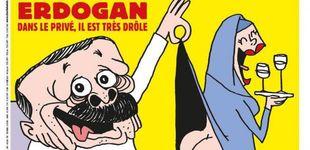 Post de Turquía abre una investigación a 'Charlie Hebdo' por insultar a Erdogan