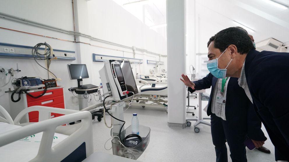 Andalucía baja por primera vez de los 1.000 hospitalizados por coronavirus