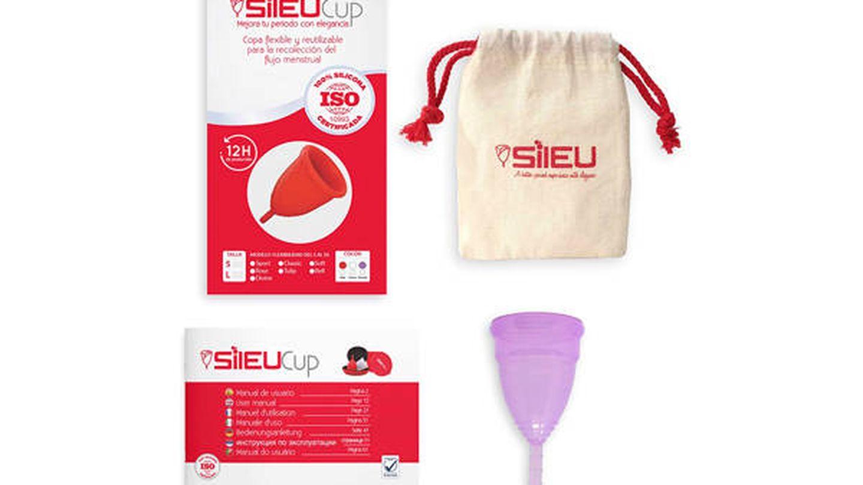 Copa menstrual para deportistas Sileu