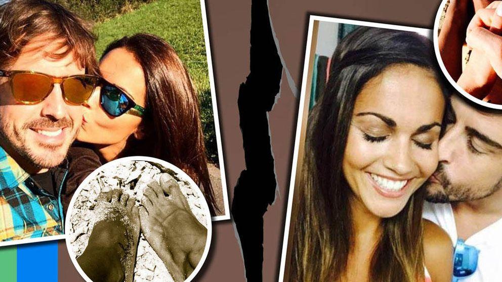 Fernando Alonso y Lara Álvarez eliminan el rastro de su relación en Instagram