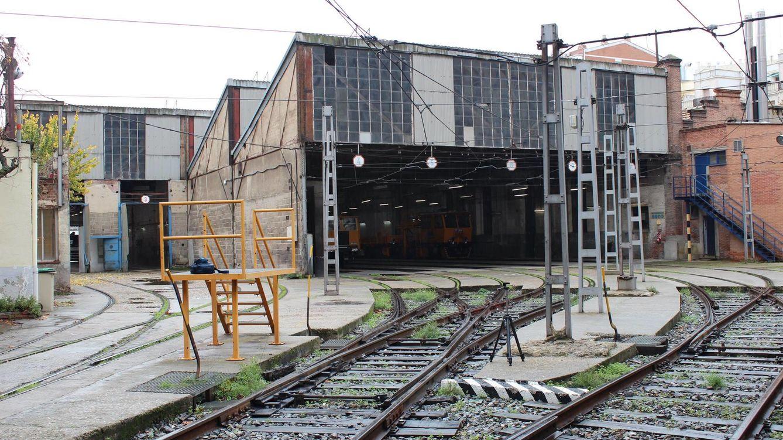 Foto: Cocheras del metro de Cuatro Caminos, ntonio Manuel Sanz Muñoz de Plataforma Salvemos Cuatro Caminos