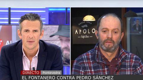 Un fontanero de Pontevedra se vuelve viral tras denunciar a Pedro Sánchez