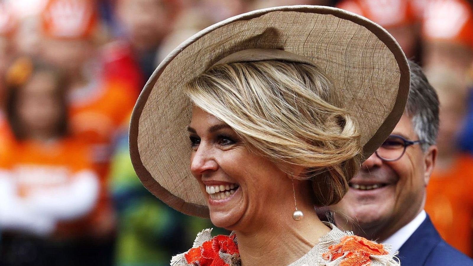 Foto: La reina Máxima en una imagen de archivo. (EFE)