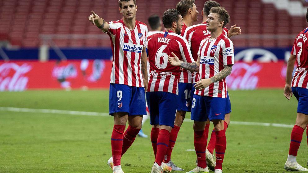 El Atlético sigue su camino hacia Europa y acerca al Mallorca al descenso (3-0)