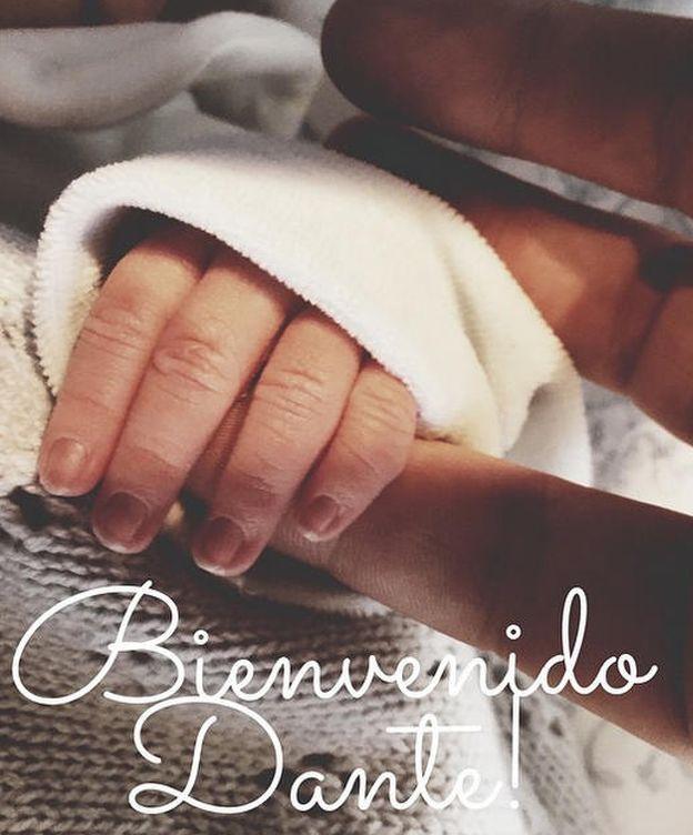 Foto: Instagram - Aldo Comas y los lapsus de un padre primerizo