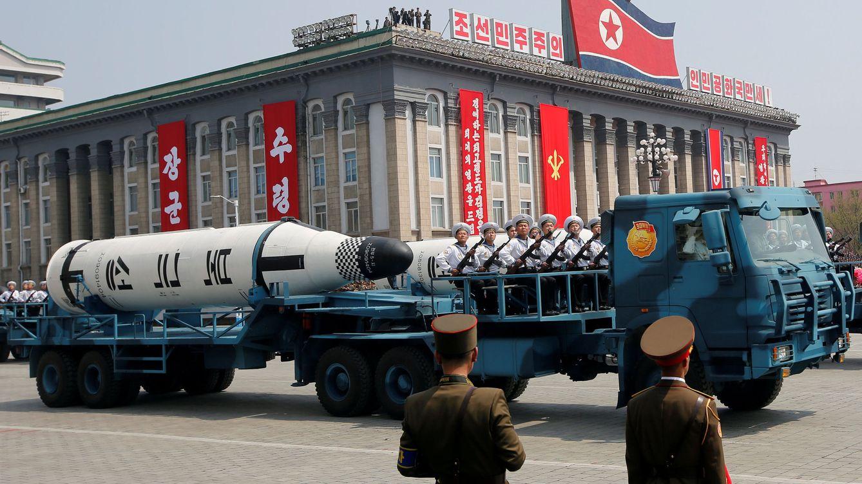 Desfile de misiles: Kim Jong-un exhibe fuerza militar de cara a los JJOO
