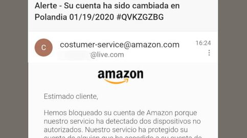No, nadie ha accedido a tu cuenta de Amazon: así van a intentar robar tus datos