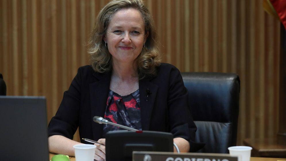 Foto: La vicepresidenta tercera y ministra de Asuntos Económicos y Transformación Digital, Nadia Calviño. (EFE)