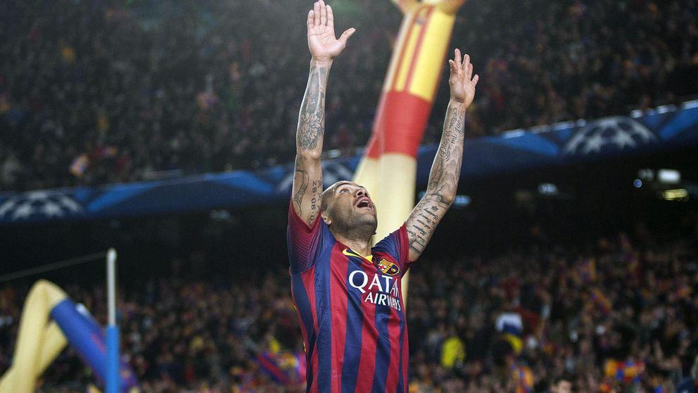 El último lío de Alves: su baile da má que hablar, de nuevo, que su gol
