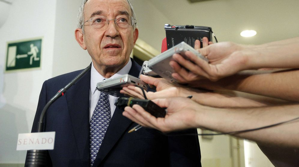 Foto: El exgobernador del Banco de España Miguel Ángel Fernández Ordóñez. (EFE)