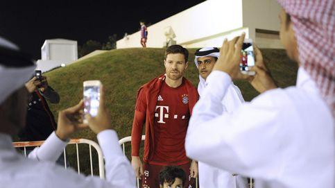 Qatar pone los cuernos al Barça con el Bayern... y patrocina sus sudaderas