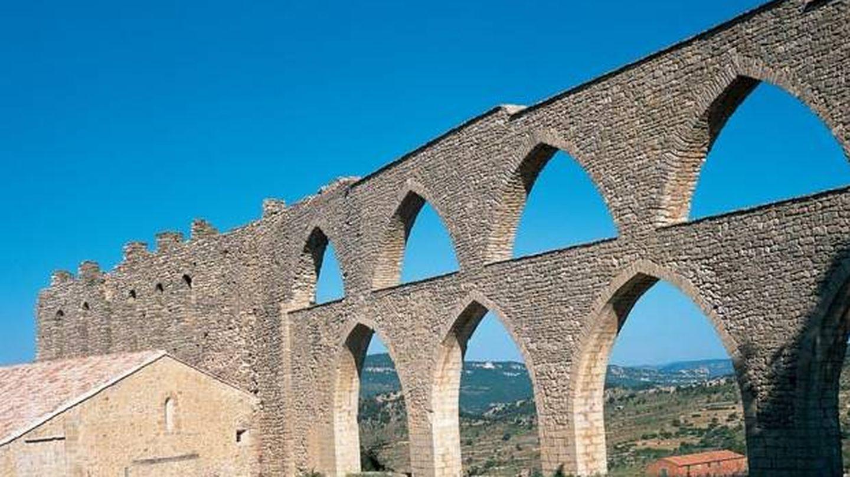 El acueducto de Morella. (Foto: Turismo de Castellón)