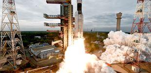 Post de India lanza con éxito su cohete a la Luna tras suspenderlo la semana pasada
