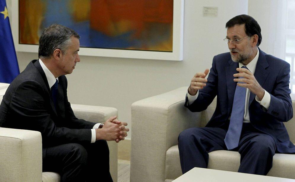 Foto: Rajoy y Urkullu durante un encuentro entre ambos mandatarios en La Moncloa. (EFE)