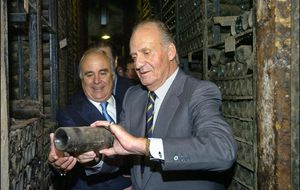 Don Juan Carlos, rey del 'photocall'