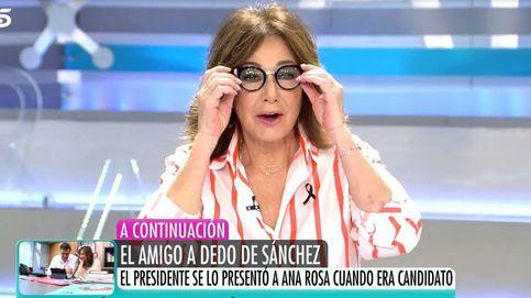 Ana Rosa Quintana interrumpe a María Claver tras encapricharse de sus gafas