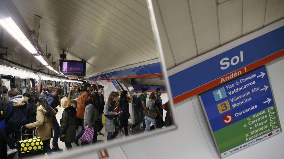Foto: Imagen de archivo de la estación de Metro de Sol (EFE)