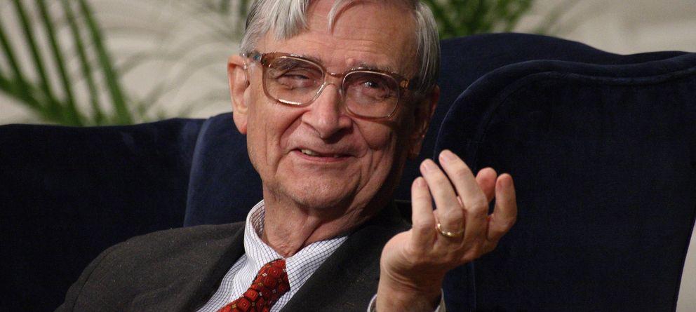 Foto: El biólogo Edward O. Wilson en octubre de 2007, durante un encuentro en la Universidad de Yale. (CC/Ragesoss)