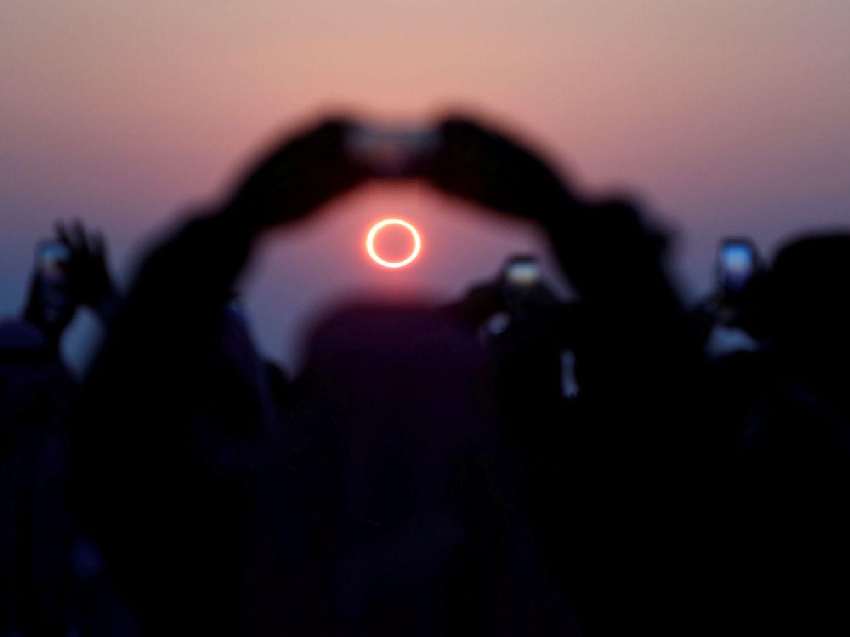 Foto: Eclipse solar anular de 2019. (Reuters)