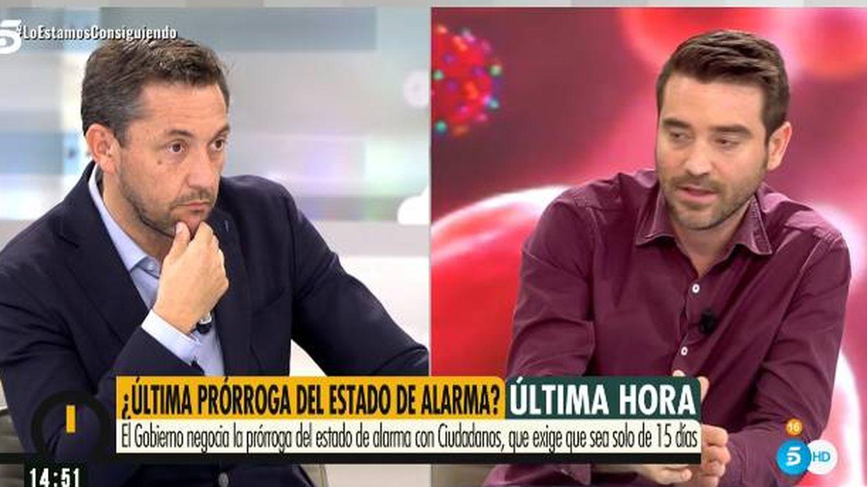 Enganchón entre Javier Ruiz y Javier Negre en 'Ya es mediodía': Esa declaración es falsa, está trucada