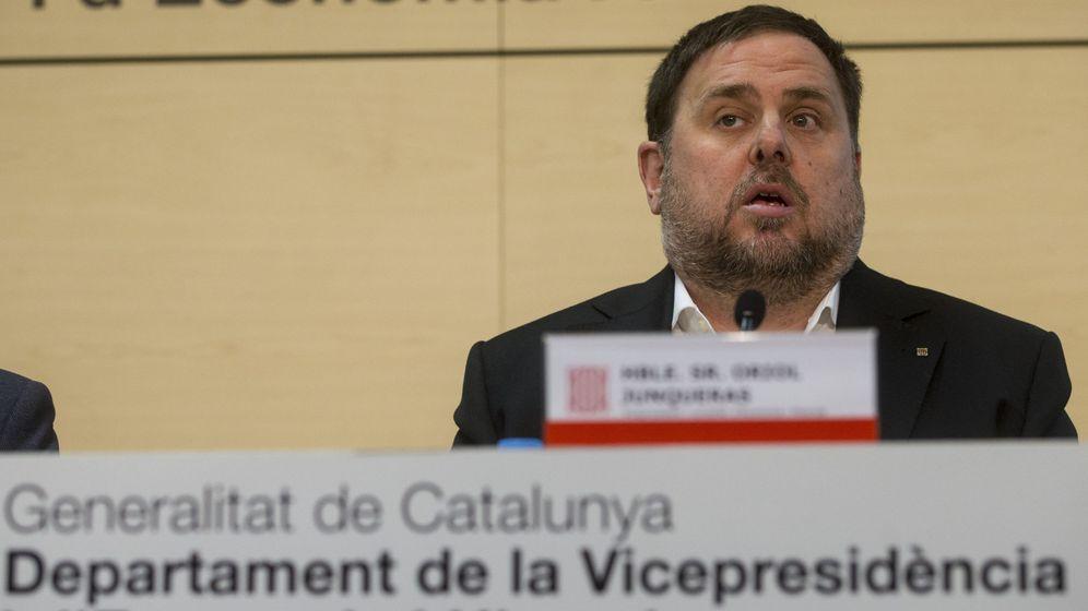 Foto: El exvicepresidente del Gobierno y conseller de Economía y Hacienda de la Generalitat de Cataluña,Oriol Junqueras. (EFE)