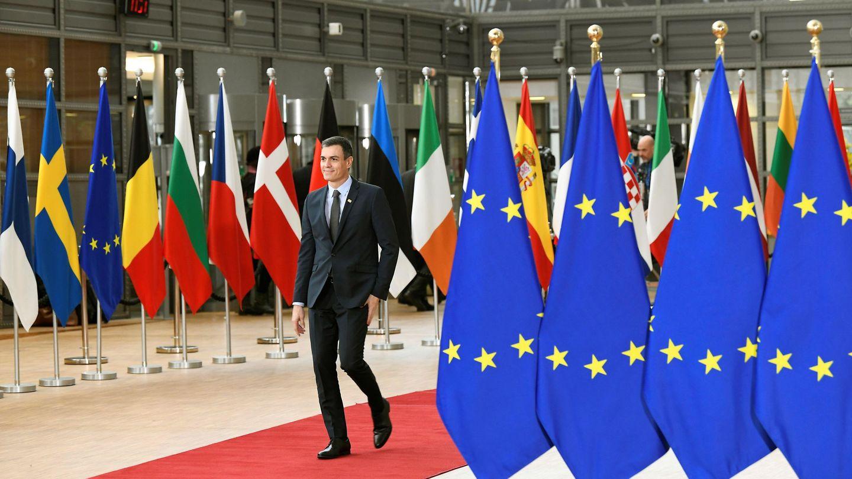 El presidente del Gobierno, Pedro Sánchez, en Bruselas. (EFE)