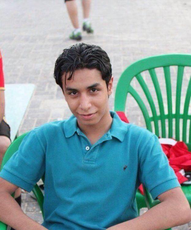 Foto: El joven Ali al-Nimr en una imagen de Facebook. (Foto: Facebook)