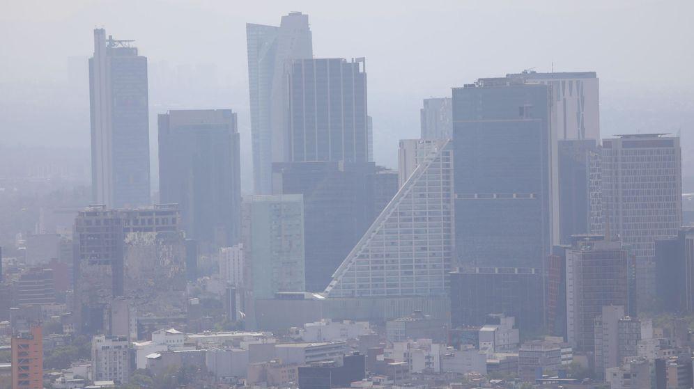 Foto: Contaminación en Ciudad de México (México). Foto: EFE Sashenka Gutierrez