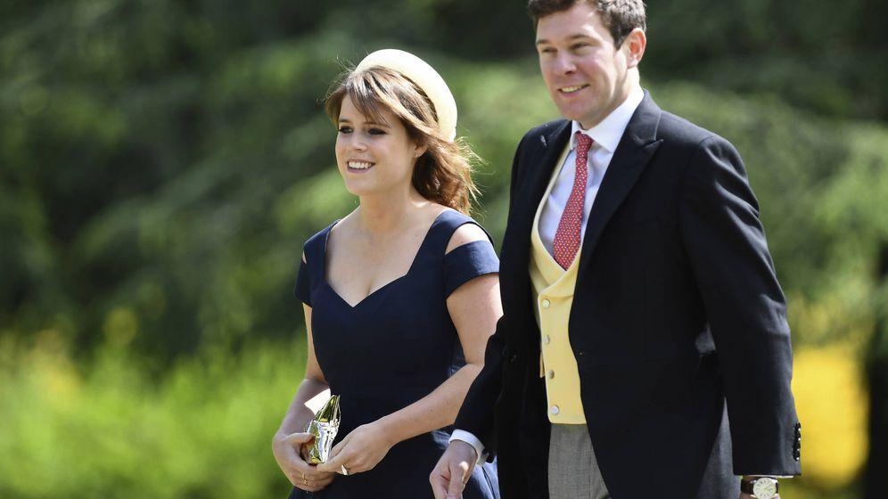 Foto: La princesa Eugenia y su prometido, Jack Brooksbank. (Gtres)