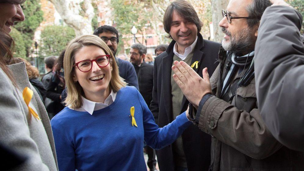 Foto: La directora de campaña de Junts per Catalunya, Elsa Artadi. (EFE)