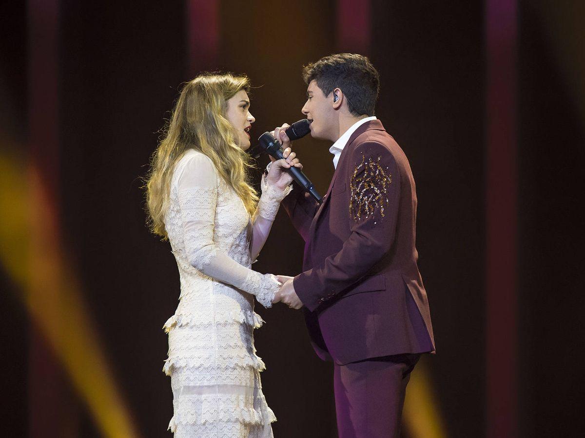 Foto: Amaia Romero y Alfred García, representantes de España en Eurovisión 2018. (RTVE)