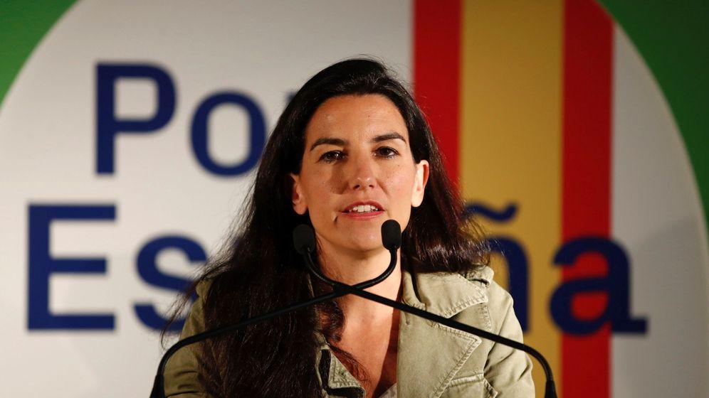 Foto: La candidata de Vox a la Comunidad de Madrid, Rocío Monasterio (Efe)