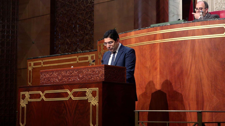 El ministro de Exteriores marroquí, Naser Burita, en una imagen de archivo. (EFE)