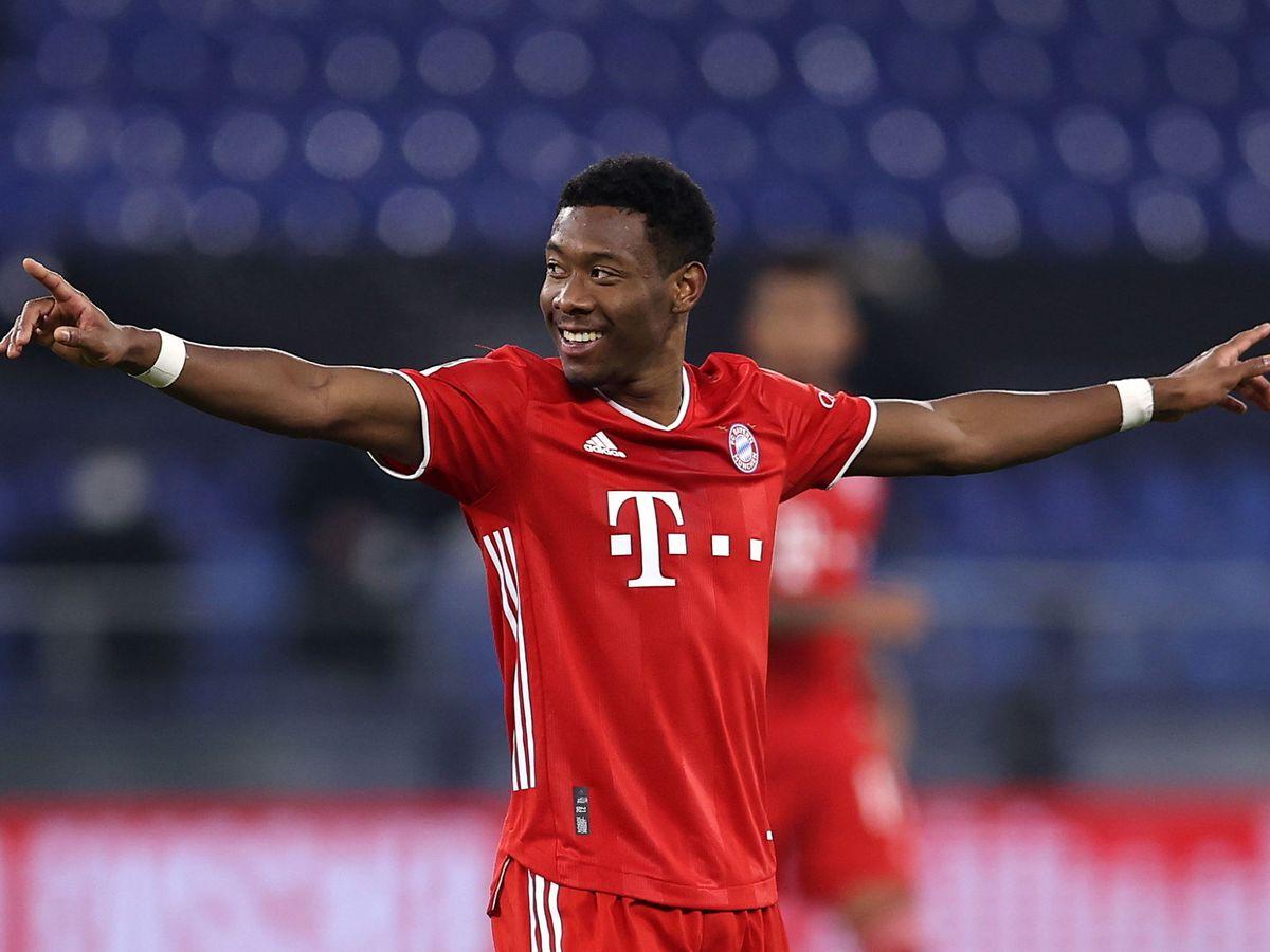 Foto: David Alaba durante un partido con el Bayern de Múnich. (EFE)