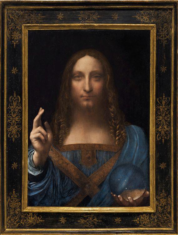 Foto: 'Salvator Mundi', el cuadro de Da Vinci que se ha vendido por 450 millones de dólares. (Reuters)