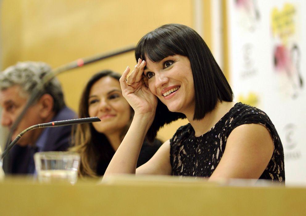 Foto: Irene Villa, en una imagen de archivo durante la presentación del libro 'Nunca es tarde princesa' (Gtres)