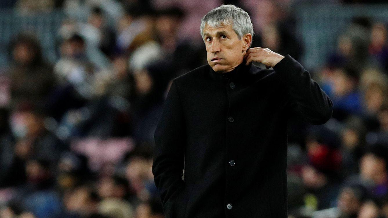La disciplina de Quique Setién que gusta al vestuario del Barça... y la pregunta de Neymar