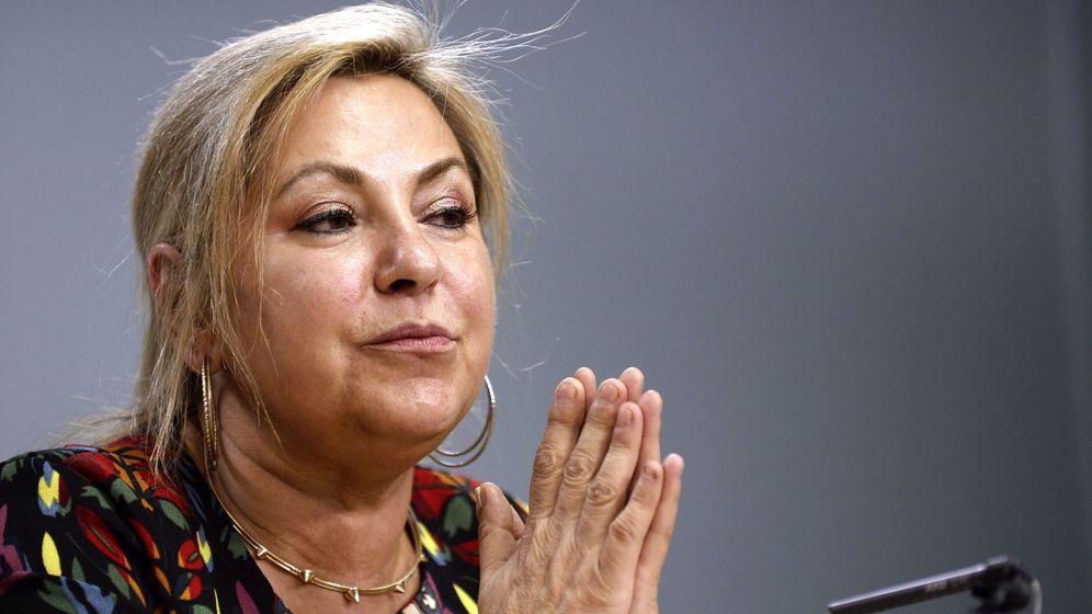 Foto:  Rosa Valdeón, durante la rueda de prensa. (EFE)