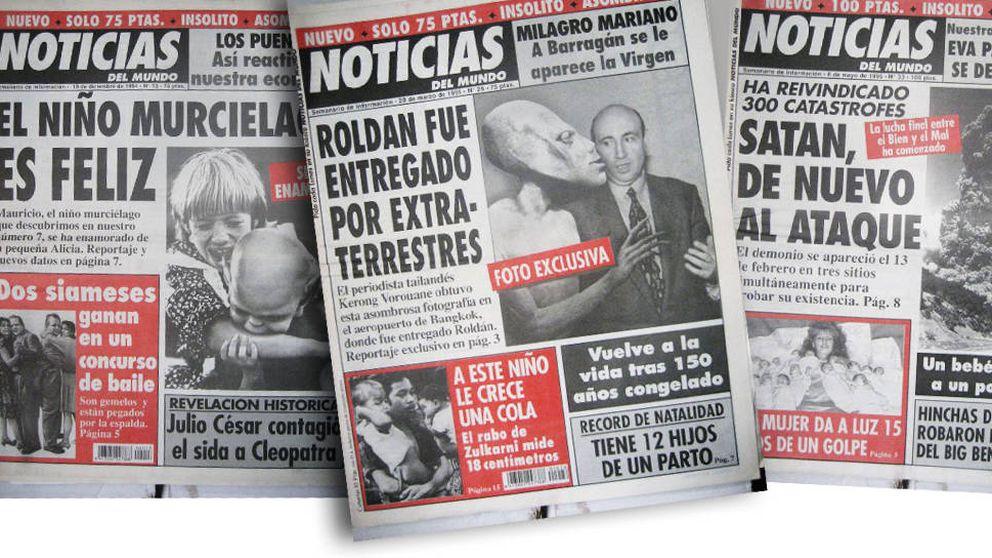 ¿Es Nieves Herrero alienígena? 'Noticias del Mundo': el reverso delirante de los 90