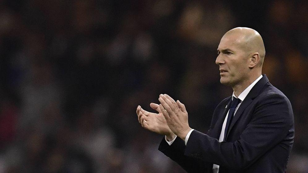 Foto: Zinedine Zidane en la final de Champions. (AFP)