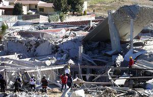 Rebajan a dos los fallecidos en una explosión de gas en un hospital de Ciudad de México